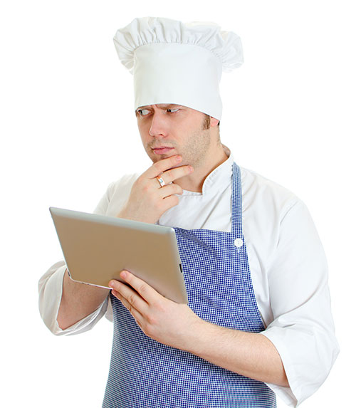 confused chef
