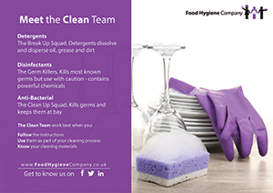 meet the clean team