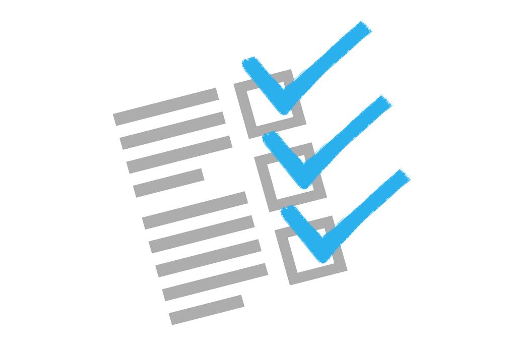 eho checklist