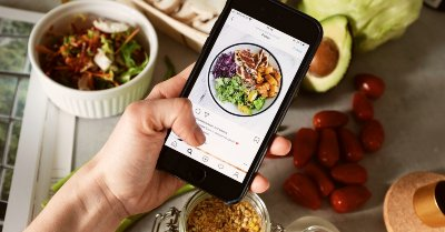 Start a food business from home by advertising on Instagram